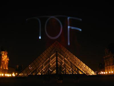 Pyramide du Louvre TOF