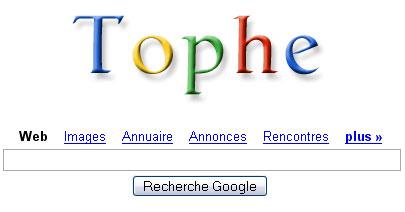 Google Tophe