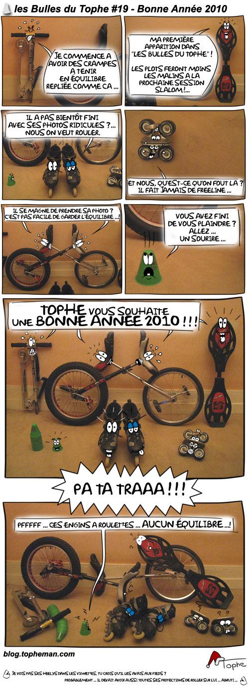 Les Bulles du Tophe #19 Bonne Année 2010