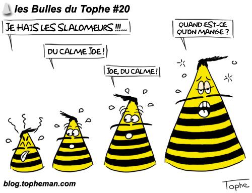 Les Bulles du Tophe #20 - Les plots de slalom Dalton