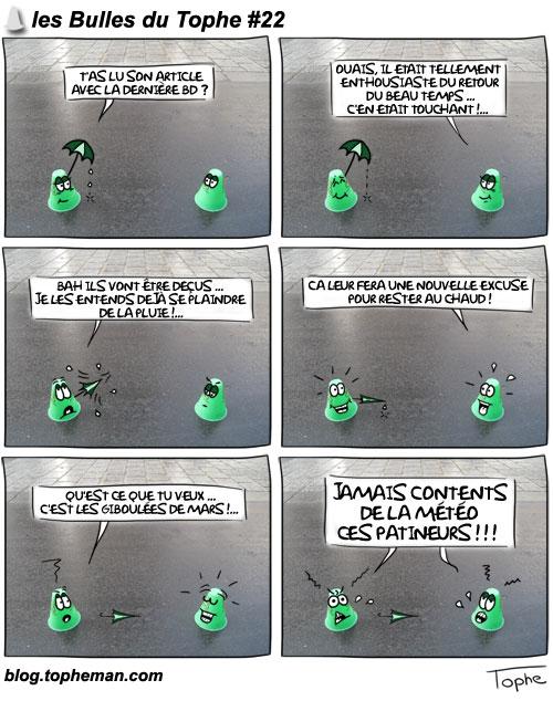 Les Bulles du Tophe #22 - Giboulées de Mars !
