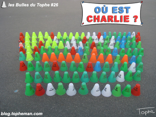 BD Roller – Les Bulles du Tophe #26 – Trouvez Charlie
