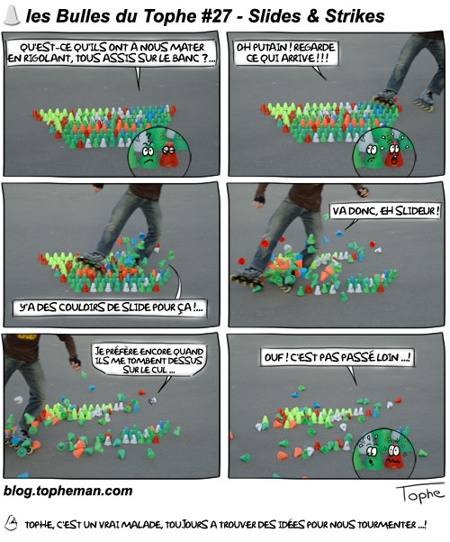 BD Roller – Les Bulles du Tophe #27 – Slides & Strikes