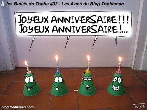 BD Roller – Les Bulles du Tophe #32 - 4 ans de blog