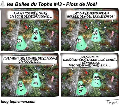 BD Roller – Les Bulles du Tophe #43 - Plots de Noël