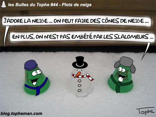 BD Roller – Les Bulles du Tophe #44 – Plots de neige