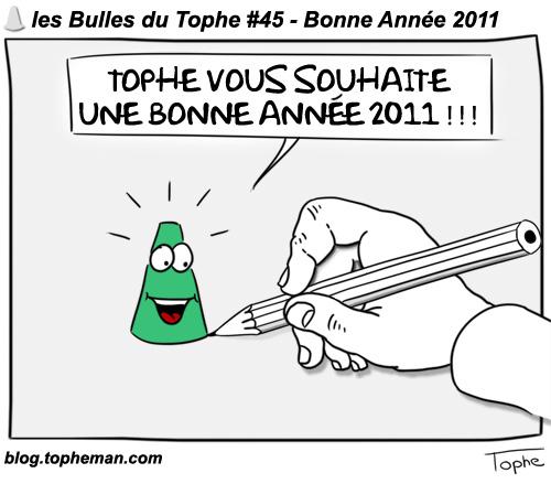 BD Roller – Les Bulles du Tophe #45 - Bonne Année 2011