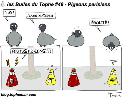 Les Bulles du Tophe #48 - Pigeons parisiens