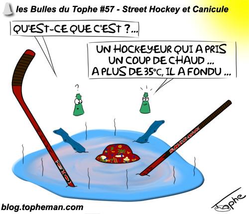 BD Roller – Les Bulles du Tophe #57 - Street Hockey et Canicule