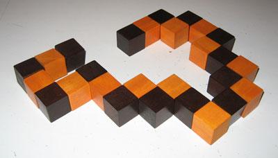 Un rubik\'s cube en bois ?