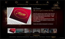 L'Oréal Paris: Partenaire officiel du festival de Cannes 2007