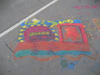 Graffiti - Coloriage à Gare de Lyon
