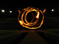 Fire writing - l'enfer