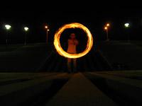 Fire writing - le cercle parfait