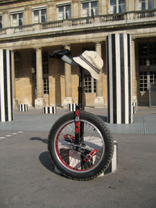 Le monocycle de Tophe