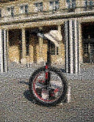 Le monocycle - La mosaïque