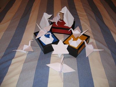 Ma Première composition d'Origamis