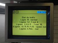 Etat du traffic