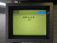 RER A et B - Nul