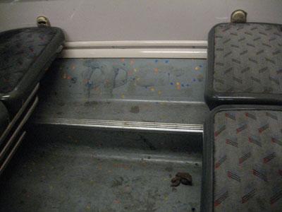 Une merde dans le RER