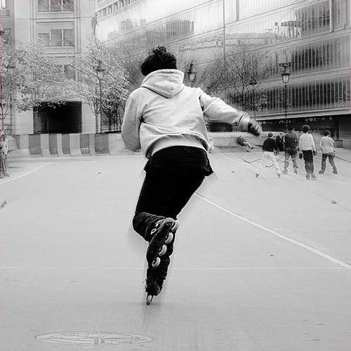 Photo Roller - Accélération
