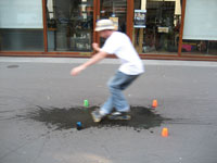 Slide trottoir mouillé - Tophe