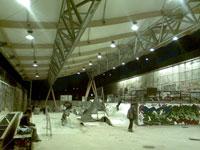Skatepark de Bercy - Nouvelle toiture