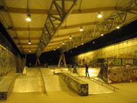 Skatepark de Bercy - Travaux terminés