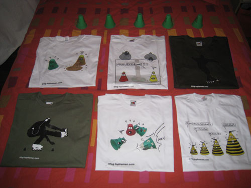 Les T-Shirt Topheman