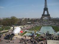 Votons pour la planète, au Trocadéro