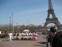 Votons pour la planète, les percussions de mulektu