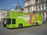 Corepile - Un Bus pour le recyclage des piles