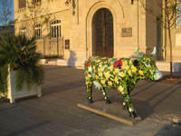 Marseille And Cow - CowParade