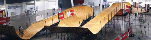 Mega Rampe Waveboard